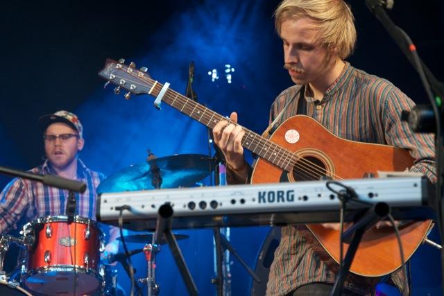 Haight Ashbury aus Glasgow beim Theatron Pfingstfestival 2012   Foto: Monika Schreiner
