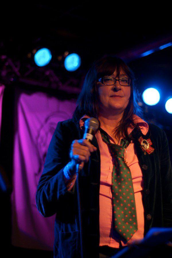 Françoise Cactus von Stereo Total | 13.09.2012 Hansa 39 München | Foto: Gerhard Bauer