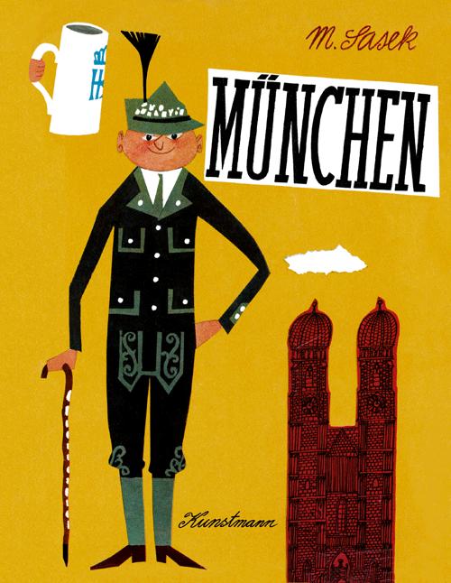"""Buch """"München"""" von Miroslav Sasek"""