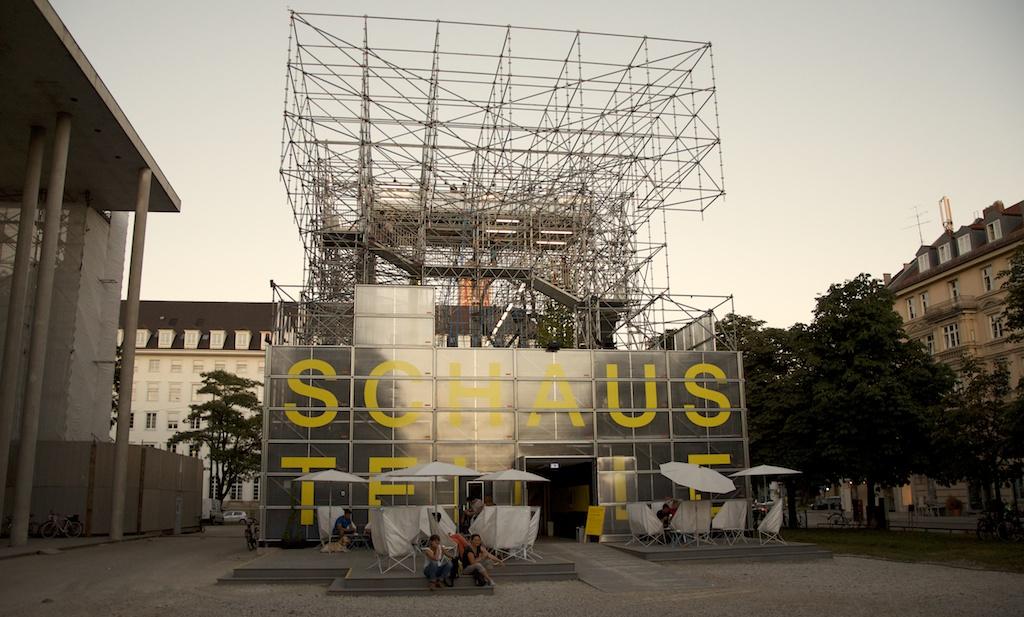 Schaustelle, Pinakothek der Moderne, München
