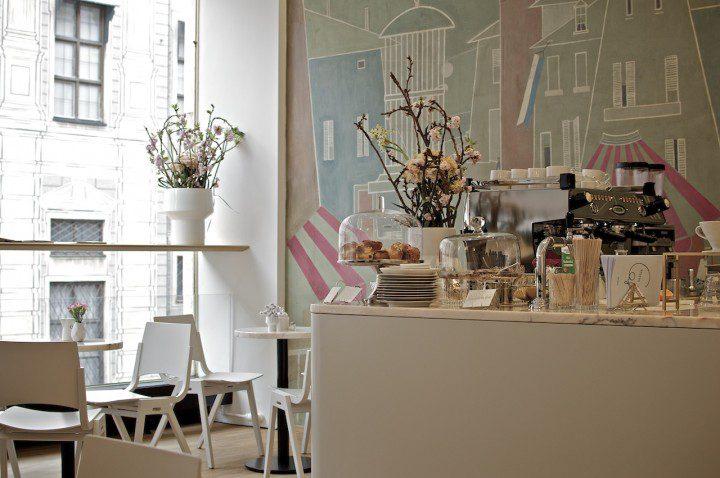 Stereo Cafe in der Residenzstraße   Foto: ISARBLOG Gerhard Bauer