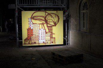Thiago Gomez, Stroke Art Fair München 2014  Foto: Monika Schreiner