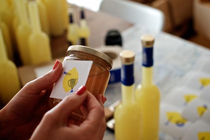 Von glücklichen Zitronen