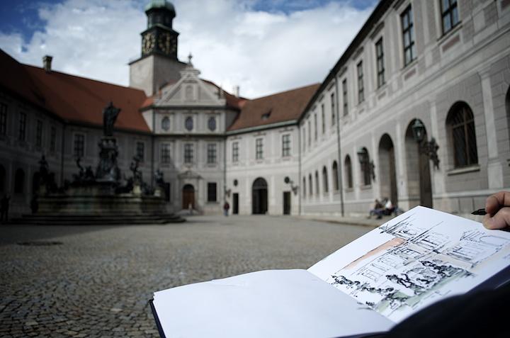 Urban Sketching München - ISARBLOG