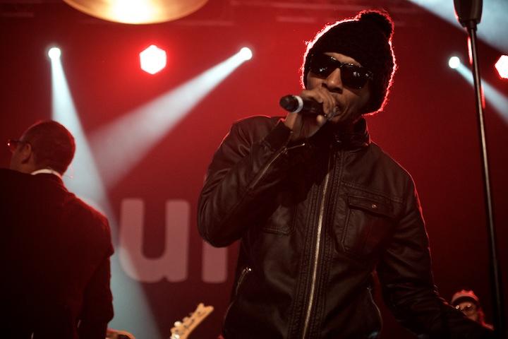 Del tha Funky Homosapien von Deltron 3030 beim Puls Festival 2014 | Foto: Monika Schreiner ISARBLOG