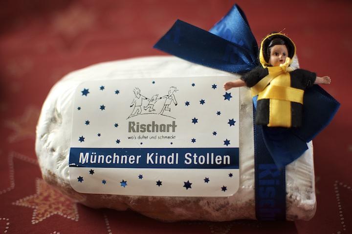 Münchner Kindl Stollen von Rischarts Backhaus | Foto: Monika Schreiner