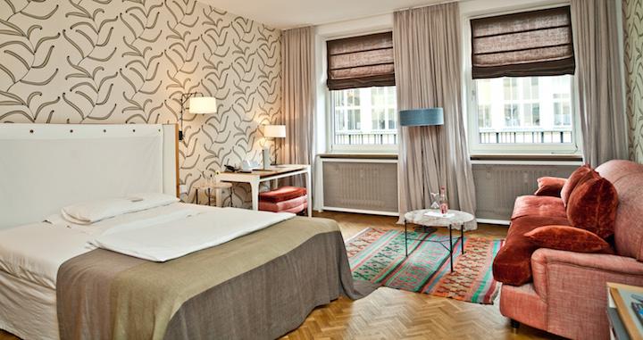 Zimmer im Hotel Cortiina | Foto: Hotel Cortiina, designhotels.com