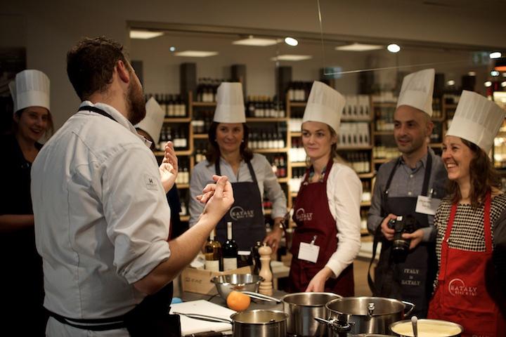 La Scoula - Die Kochschule im Keller von Eataly München   Foto: ISARBLOG