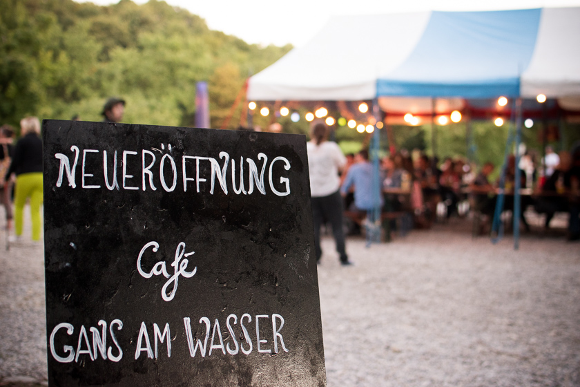 Cafe Gans am Wasser, Westpark München, ISARBLOG 2016