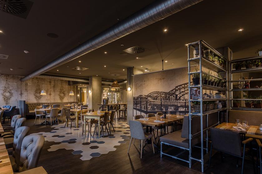 Die Inneneinrichtung des neuen Restaurants   Foto: Westend Factory