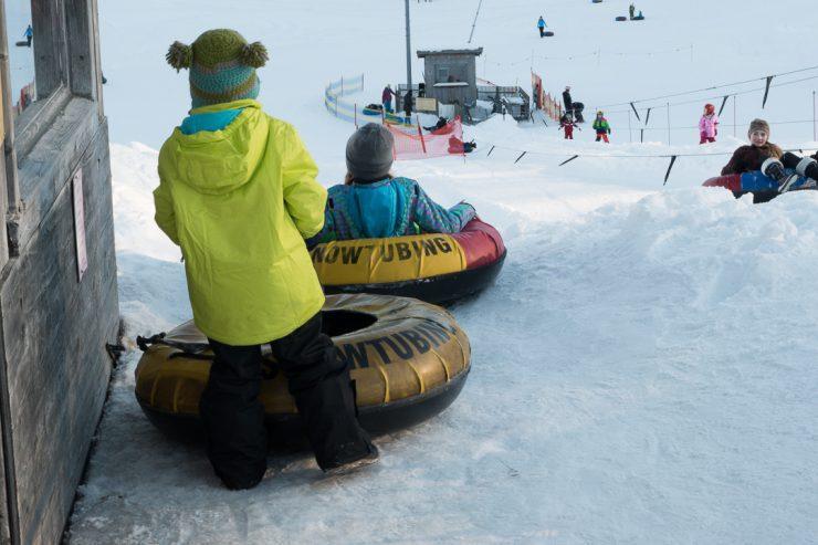 Snowtubing auf der Kesselam | Foto: Monika Schreiner ISARBLOG