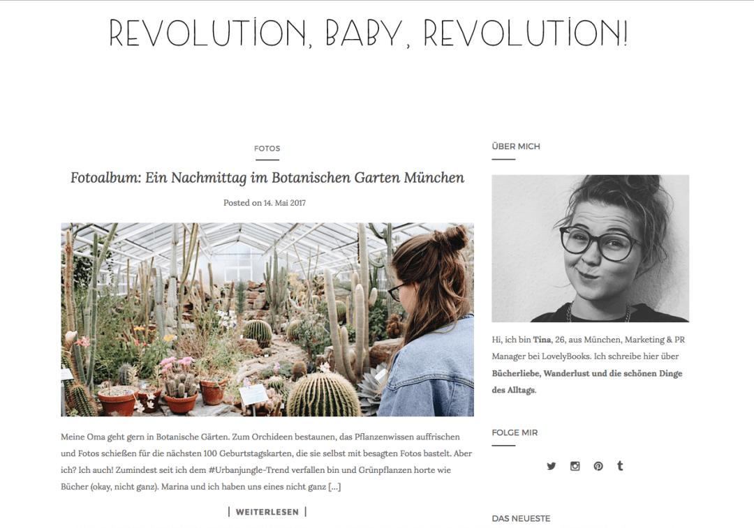 Revolution, Baby, Revolution!