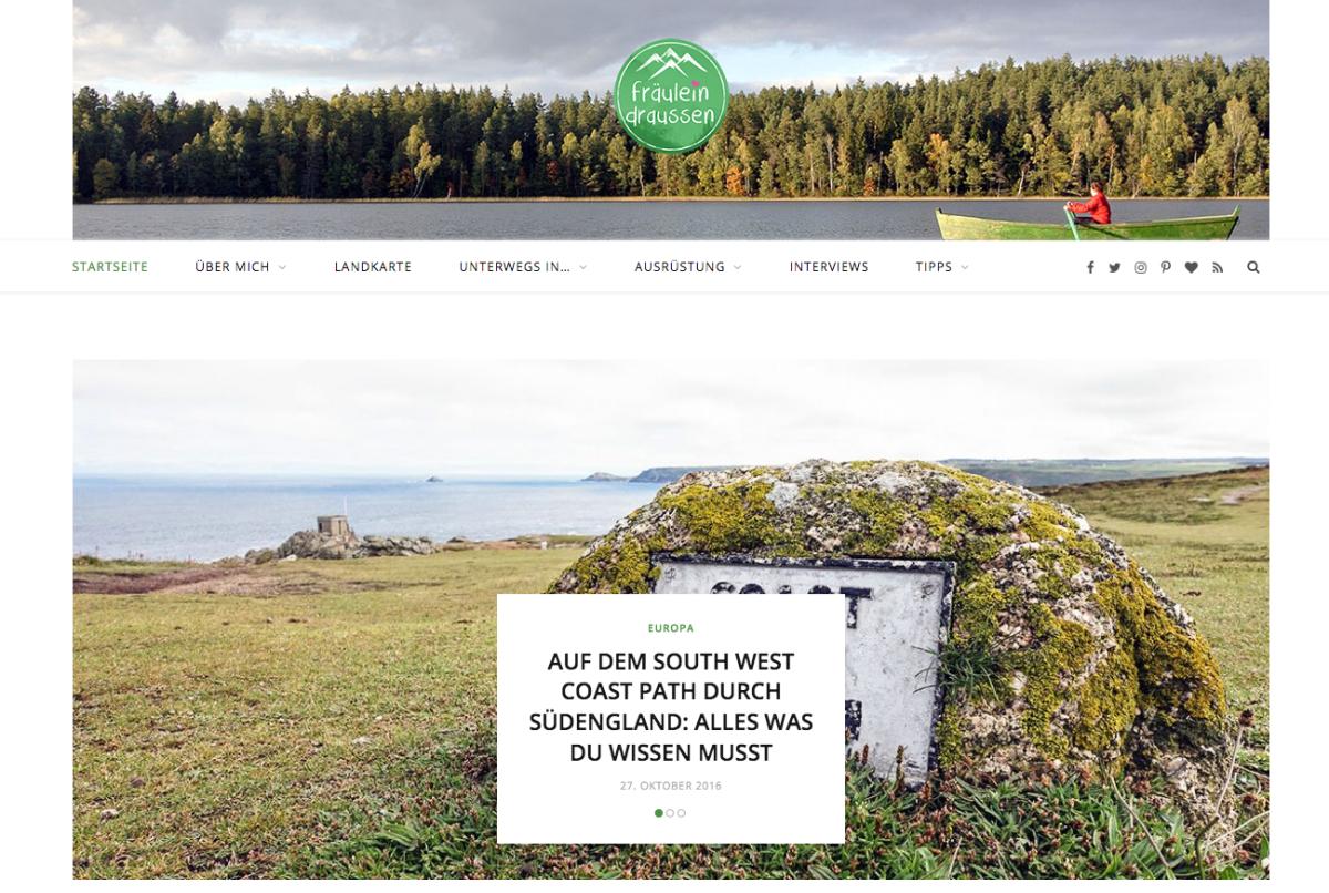 Der Reiseblog Gewinner: Fräulein Draussen