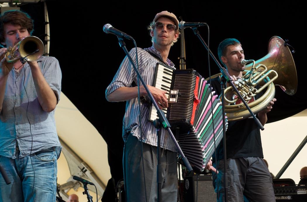 Kofelgschroa live beim Theatron Festival | Foto: Monika Schreiner