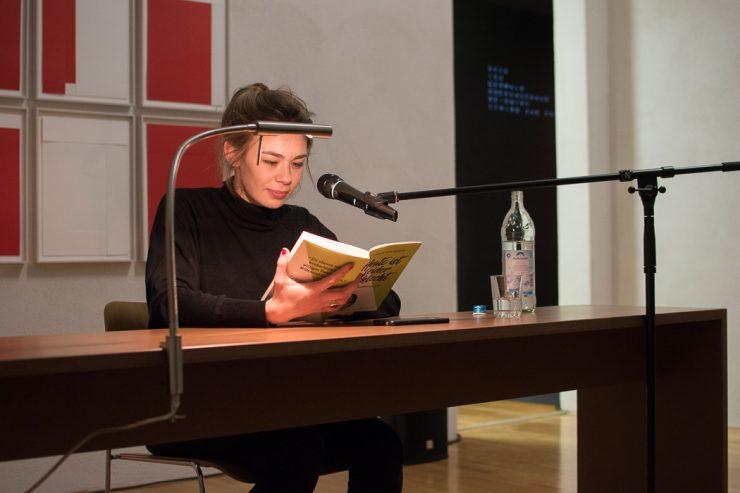 Ronja von Rönne in der Sammlung Goetz
