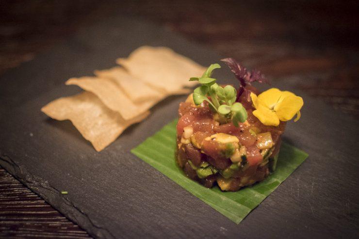 Thunfisch Tatar im Restaurant Mun München Haidhausen