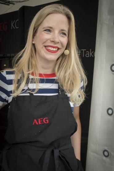 Amelie Heinz in der AEG Kochschule bei Taste of München - ISARBLOG