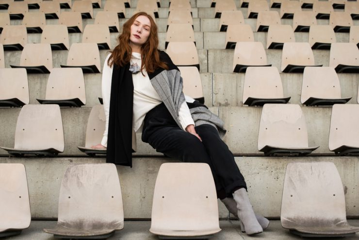 Im Hier Store gibt es die Mode von Stephanie Kahnau zu kaufen