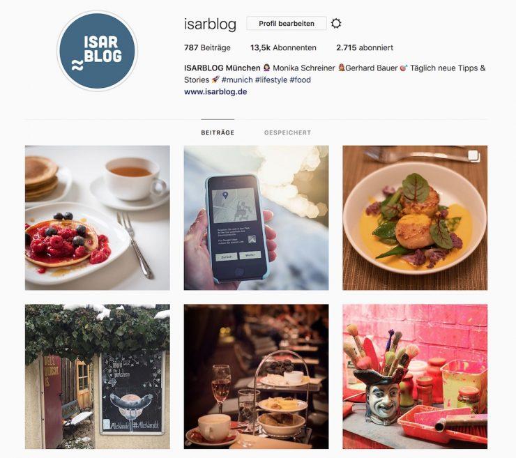 ISARBLOG Instagram München