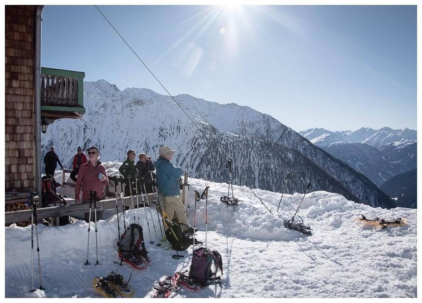 Skihütte Cool Contrast