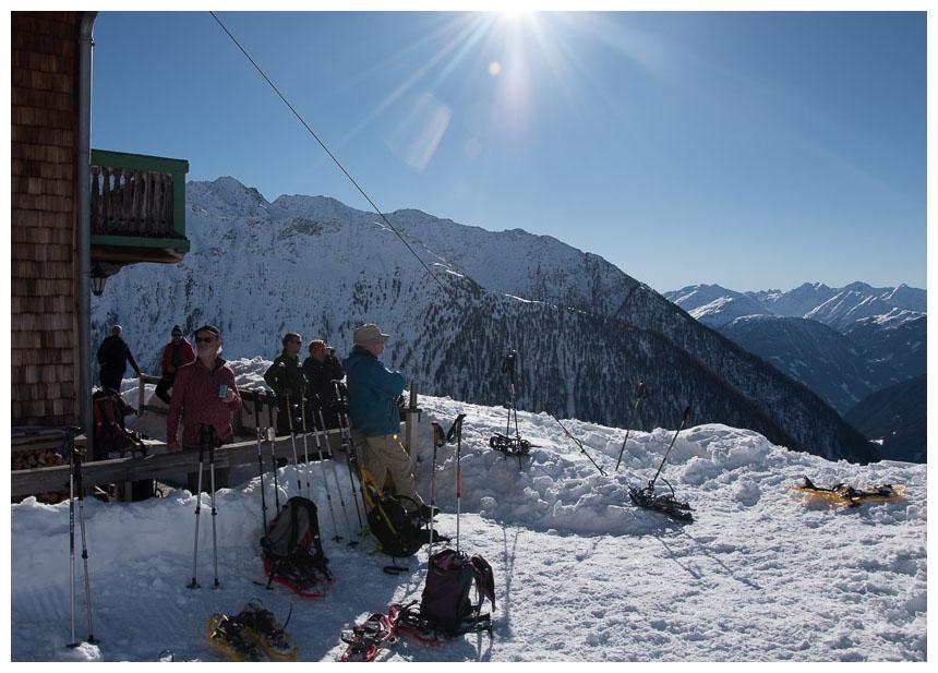 Skihütte unbearbeitet