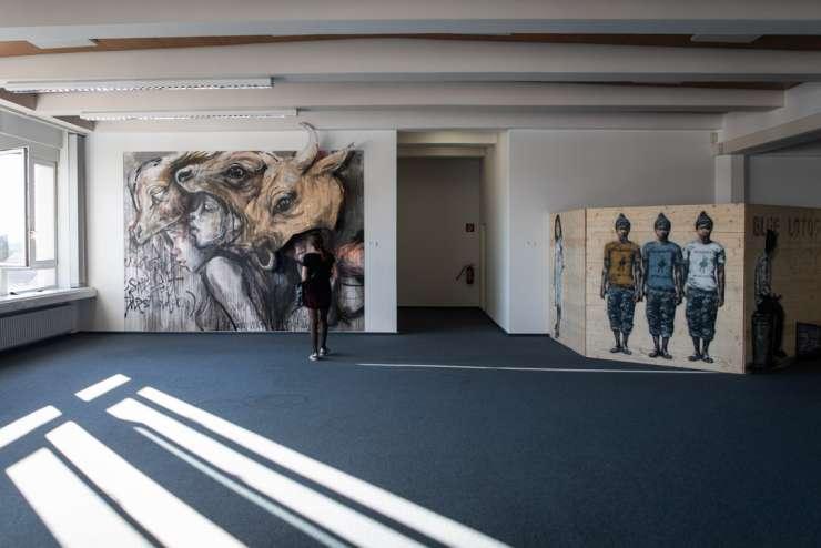 Kunstlabor Landsberger Straße München MUCA Urban Art Streetart Munich
