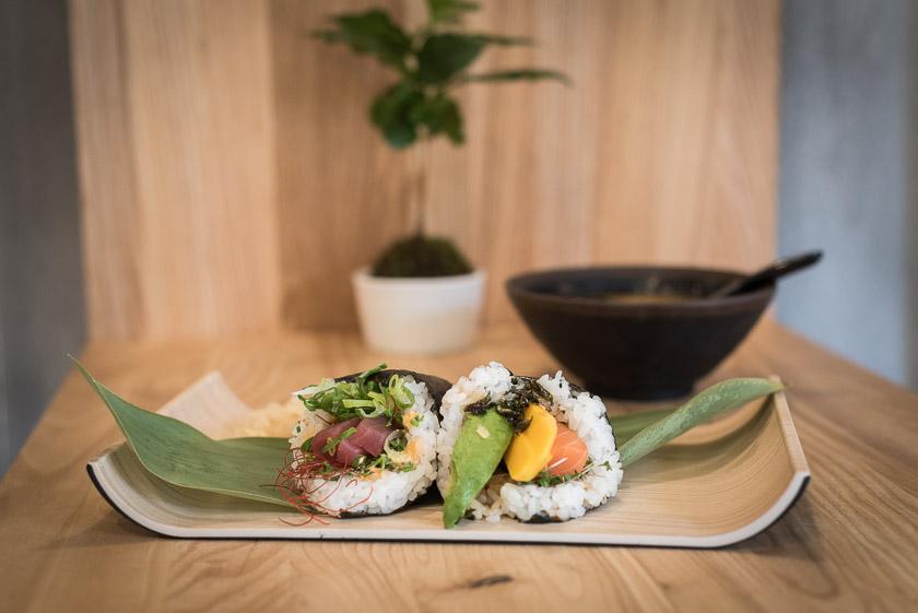 Temaki Sushi im Little Daruma