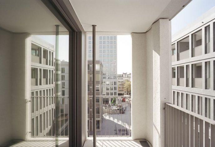 Architektouren 2019 - Wohn-/Geschäftshaus im Stadtquartier Leopoldstraße   Foto: 03 Arch.