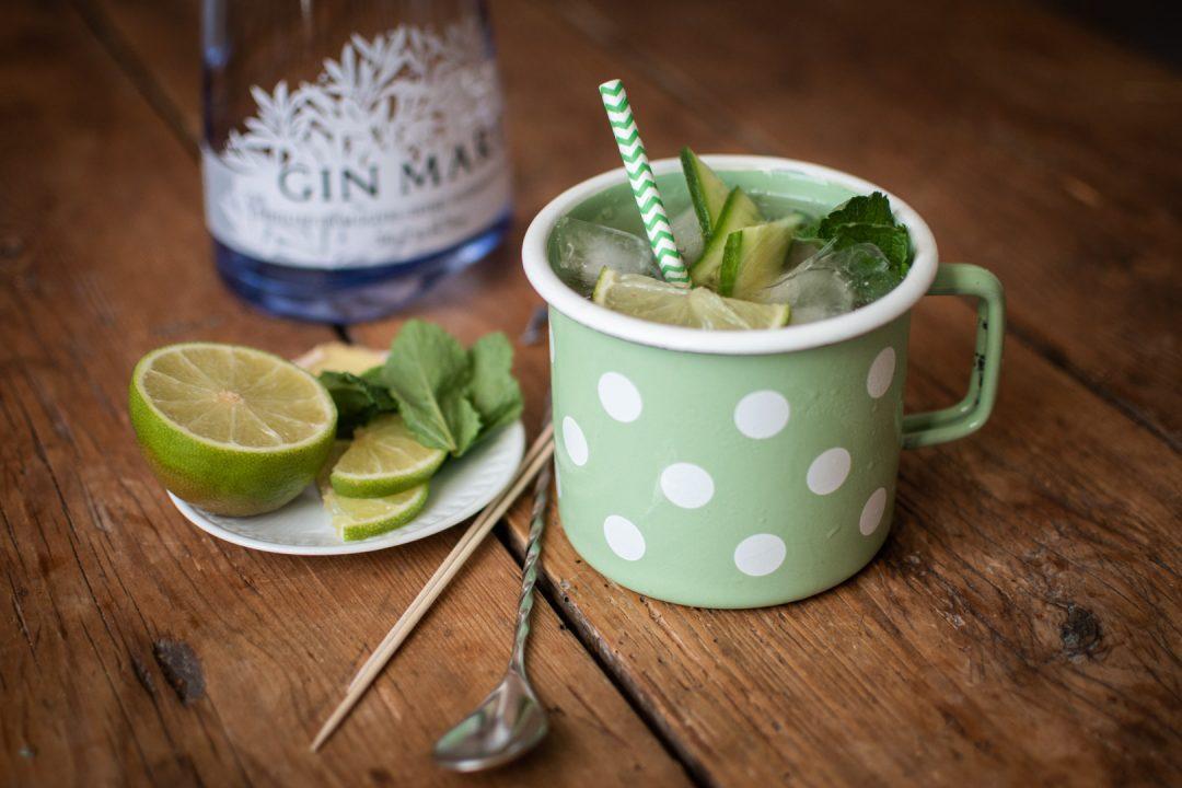 Matcha Mule mit Gin Mare und Matcha You | Foto: ISARBLOG