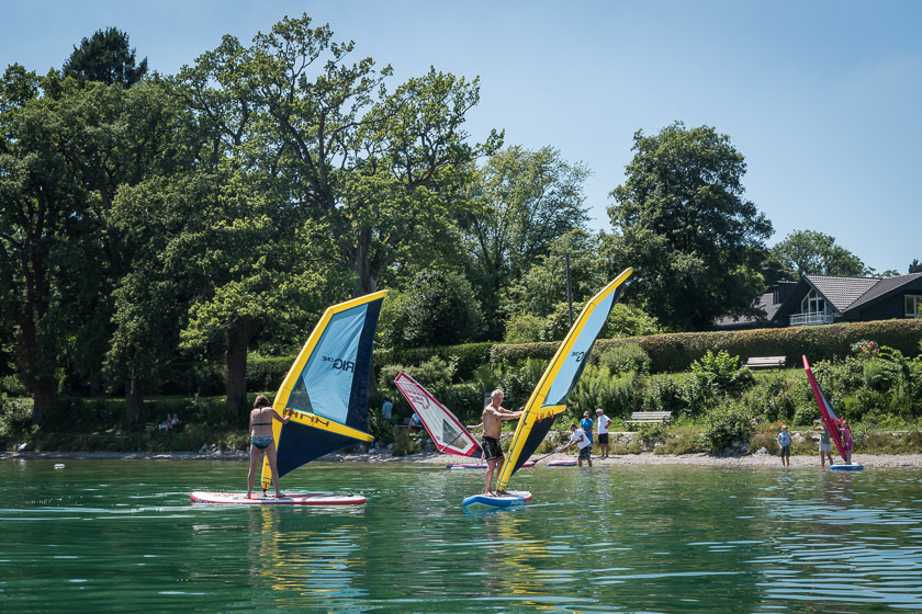 Standup Paddeling - SUP Starnberger See