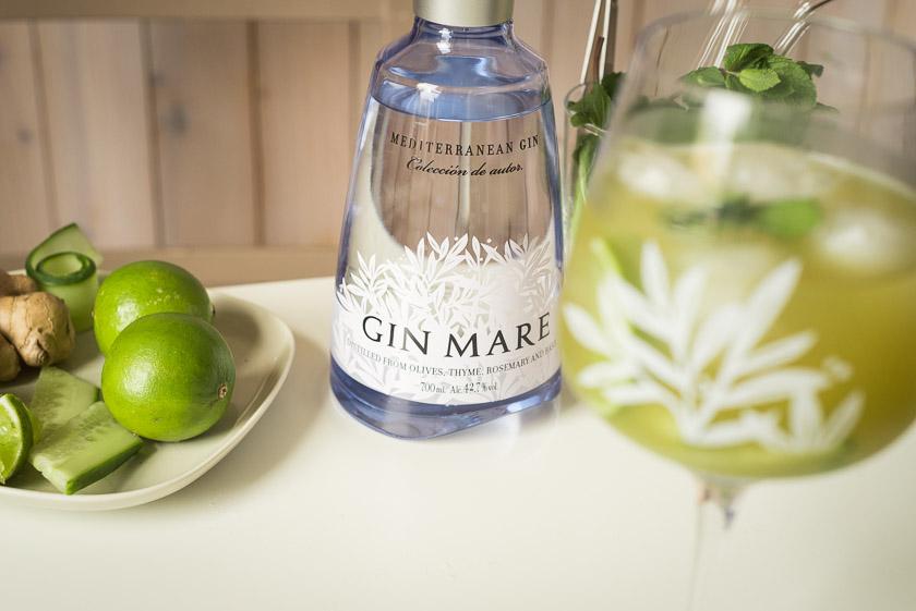 Einer unserer liebsten Gin Mare Cocktails: Matcha Mule