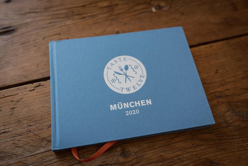 Taste Twelve 2020 München Buch   Foto: ISARBLOG