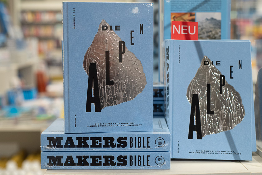 Makers Bible Die Alpen