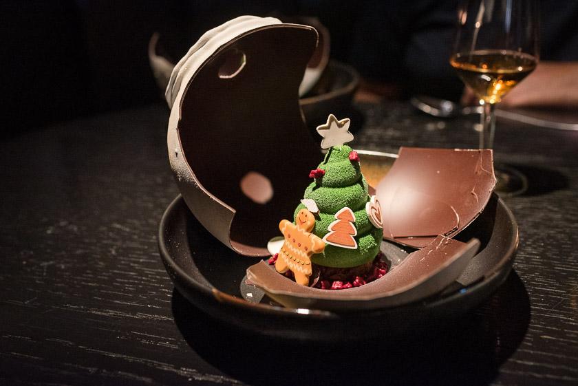 Das Dessert beim izakaya christmas menu München