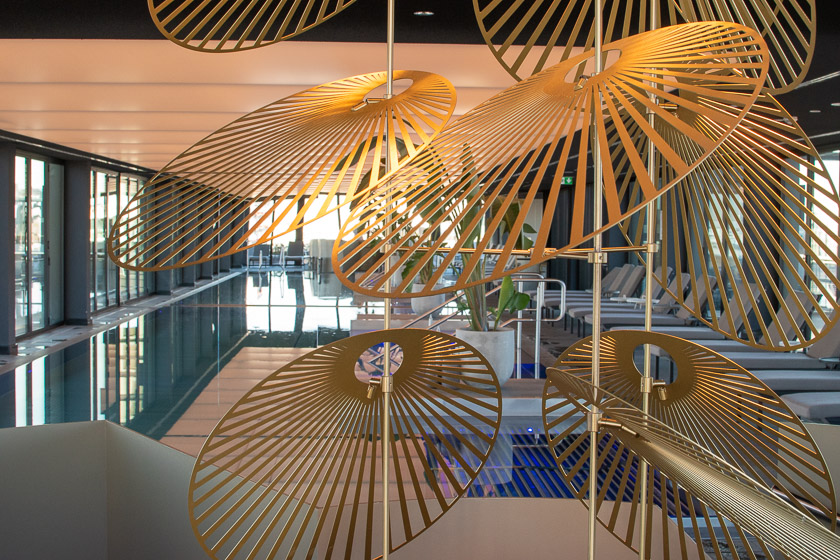 Andaz Spa München Schwimmbad - ISARBLOG