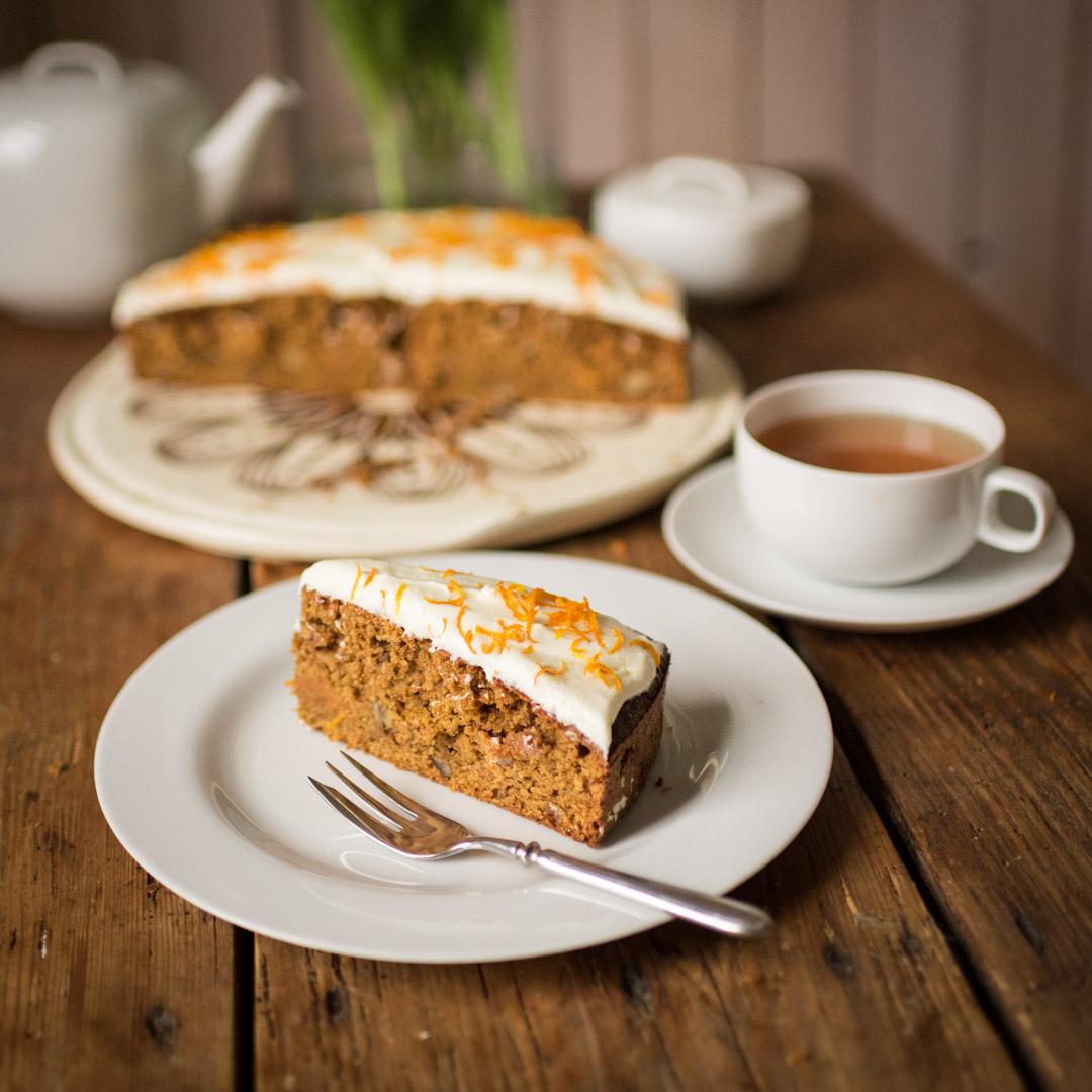 Carrot Cake mit Orange Vanilla Frosting   Foto: ISARBLOG