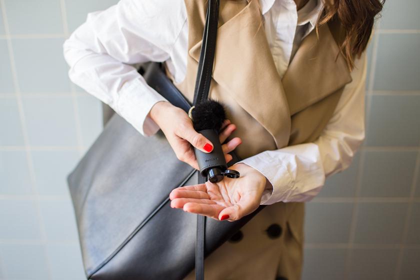 Pericosa CarryME aus schwarzem Leder | Foto: Pericosa