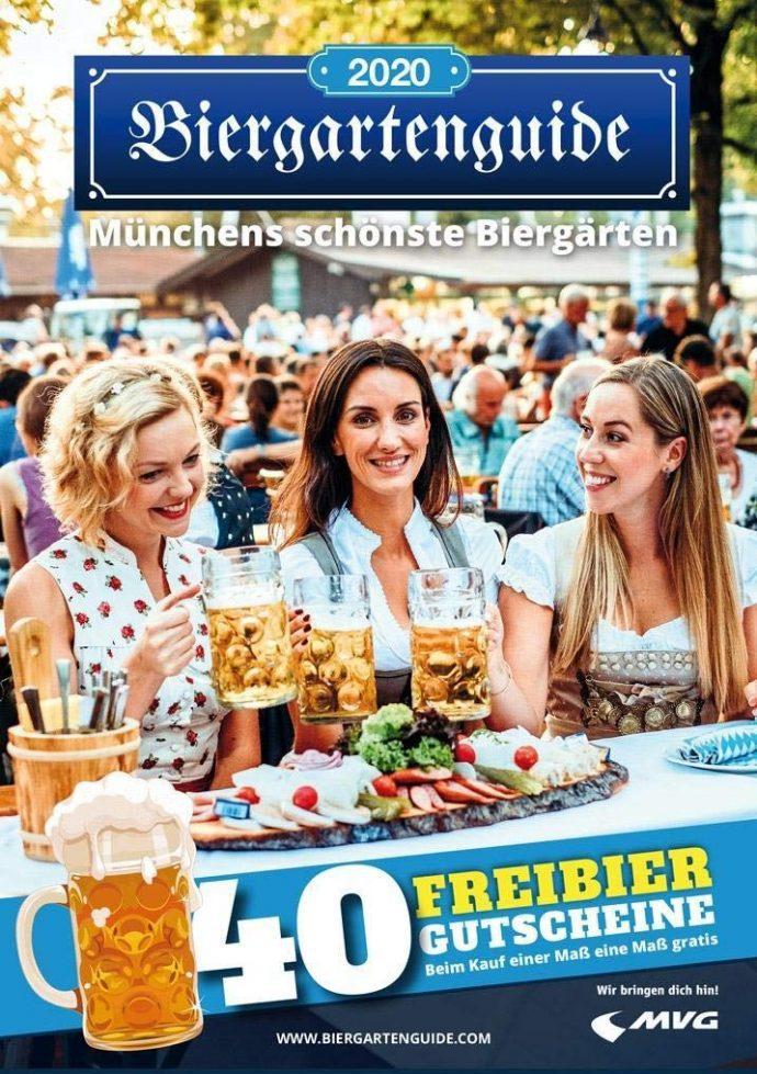 Biergarten Guide 2020 Freibier Gutscheine