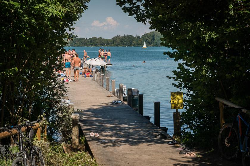Wörthsee Sommer Baden Strandbad | Foto: ISARBLOG Monika Schreiner