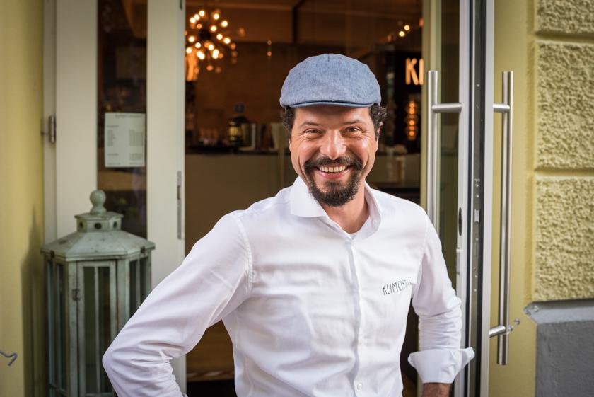 Mete Klimenti von Klimenti's Restaurant im September 2020