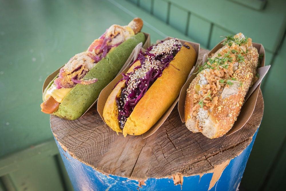 Vegan Hot Dogs von Organic Garden